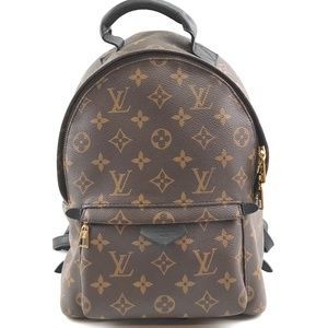 Palm Springs Pm Brown Monogram Canvas Backpack